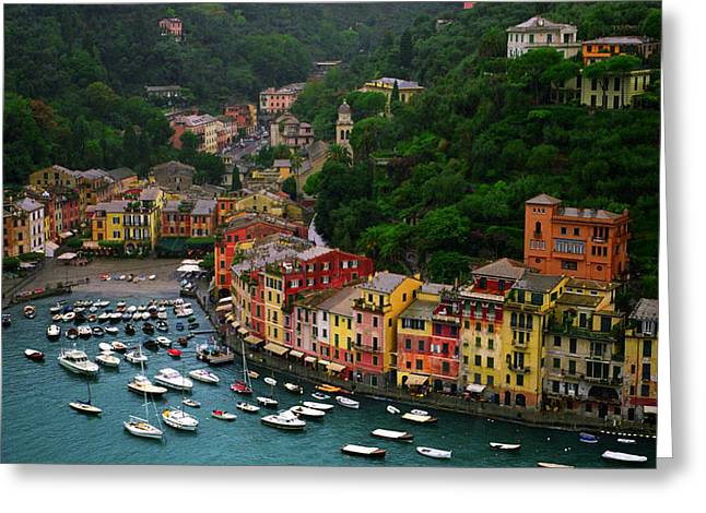 Portofino Italy Greeting Cards - Portofino Greeting Card by John Galbo
