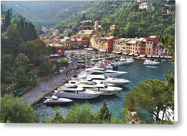 Portofino Greeting Cards - Portofino Greeting Card by Marilyn Dunlap