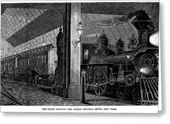 Postal Greeting Cards - Postal Service, 1875 Greeting Card by Granger
