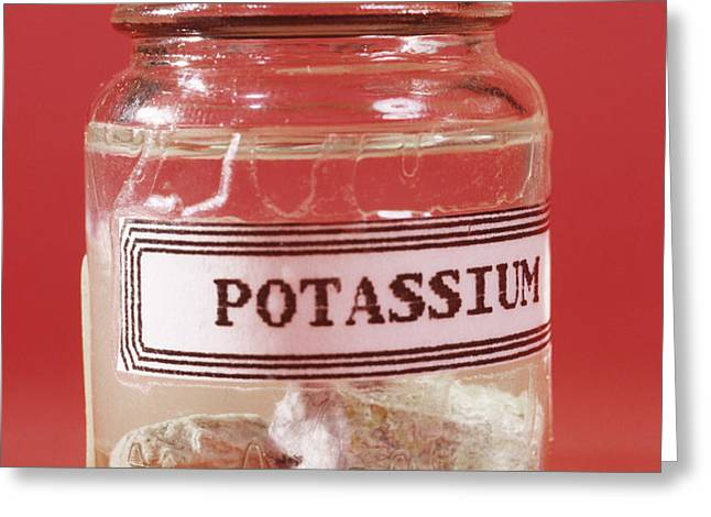 Potassium Greeting Card by Andrew Lambert Photography