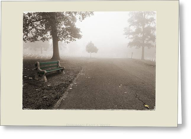 Graveyard Road Greeting Cards - Potomac - East USSAH Greeting Card by Jan Faul
