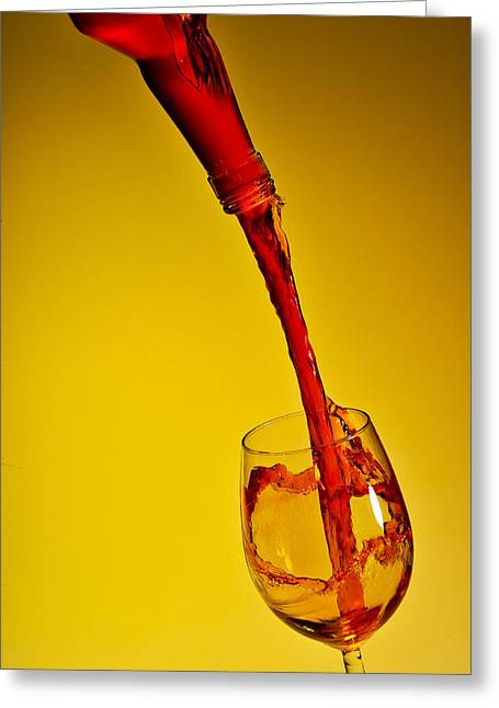 Pouring Wine Greeting Cards - Pouring Greeting Card by Travel Images Worldwide