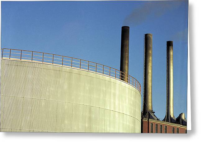 Dk Greeting Cards - Power Generation Greeting Card by Jan Faul