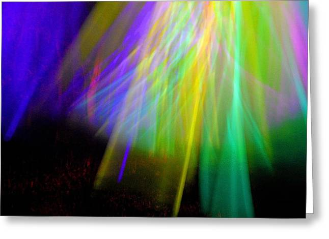 Abstract Movement Greeting Cards - Power Of The Climax 20 Greeting Card by Cyryn Fyrcyd