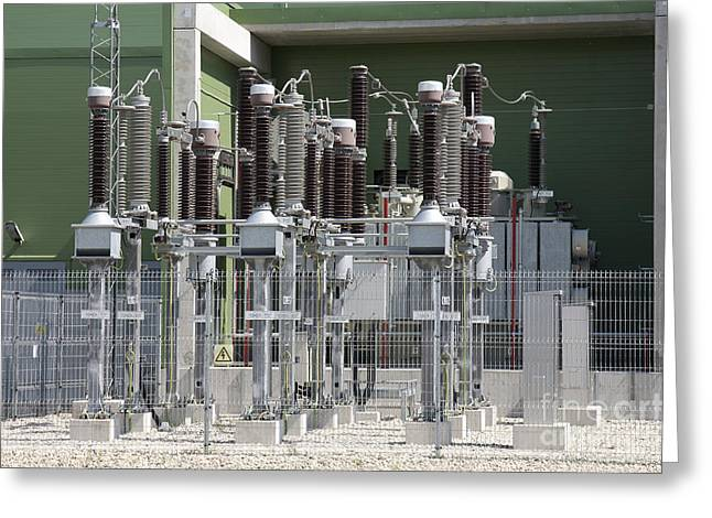 Power Plants Greeting Cards - Power Plant Greeting Card by Jaak Nilson