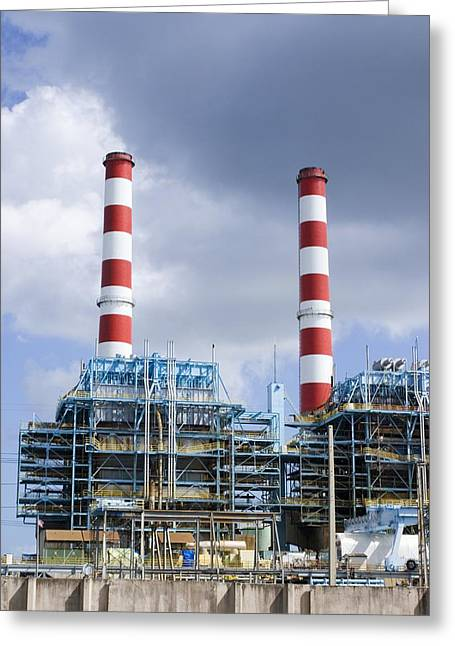 Titusville Greeting Cards - Power Station, Florida, Usa Greeting Card by Mark Williamson