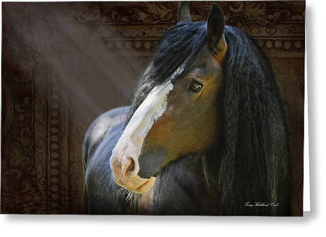 Powerful Paul The Legend Greeting Card by Terry Kirkland Cook