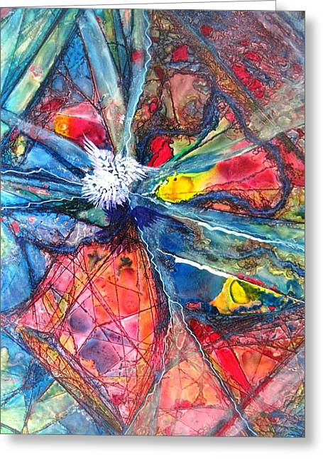 Boardroom Mixed Media Greeting Cards - Prelude Greeting Card by David Raderstorf