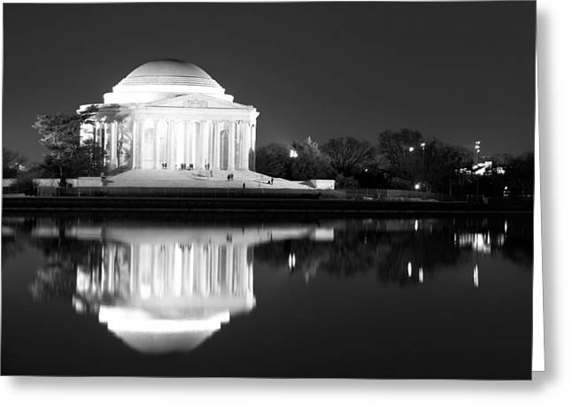 Jefferson Greeting Cards - Presence of a rival Greeting Card by Mitch Cat