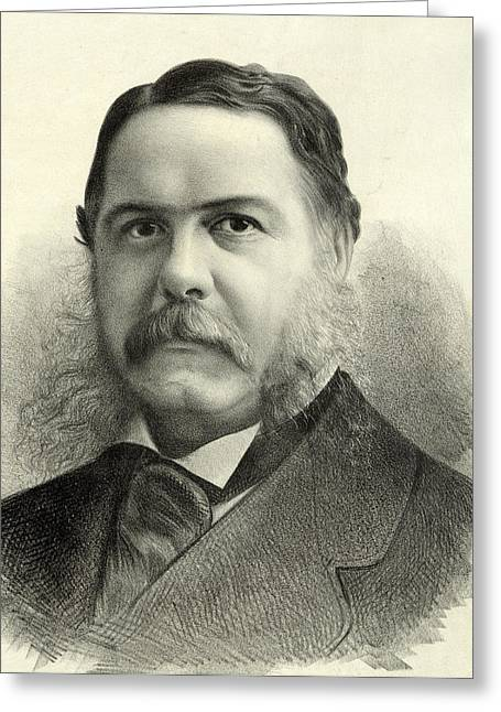 President Of America Greeting Cards - President Chester Arthur Greeting Card by International  Images