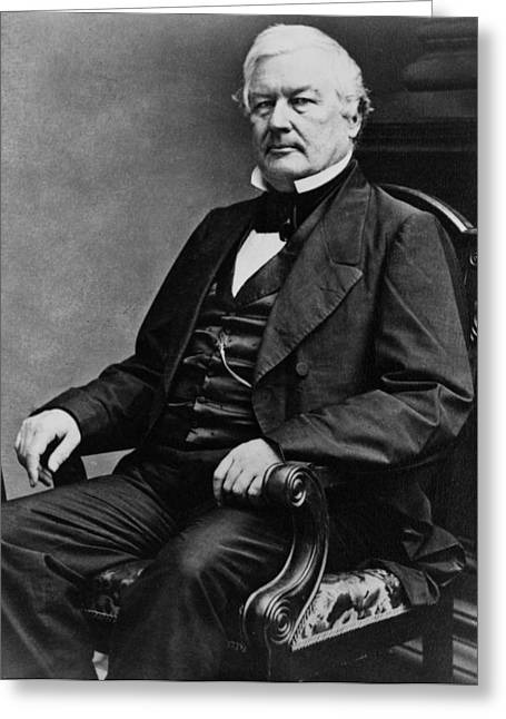 President Of America Greeting Cards - President Millard Fillmore Greeting Card by International  Images