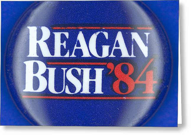 Presidential Campaign: 1984 Greeting Card by Granger