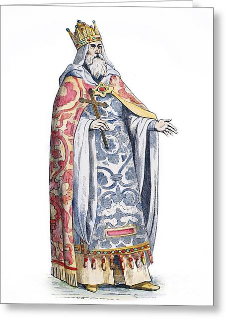 Cesare Greeting Cards - Prester John Greeting Card by Granger