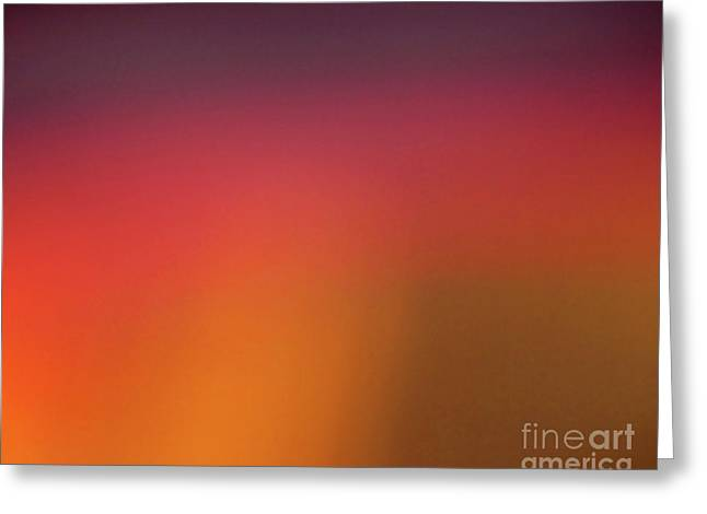 Lobby Art Greeting Cards - Pretend Sunrise Greeting Card by CML Brown