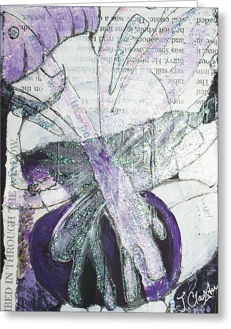 Faries Greeting Cards - Pretty and Tranquil Greeting Card by Joanne Claxton