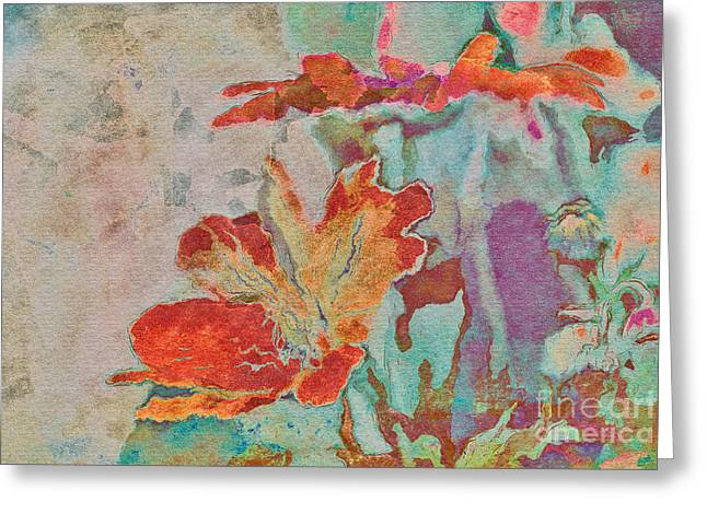 Textured Flower Greeting Cards - Pretty Bouquet - a09z7bt2 Greeting Card by Variance Collections