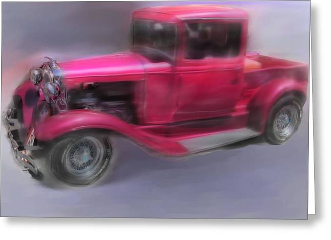 Pretty In Pink Greeting Card by Mary M Collins