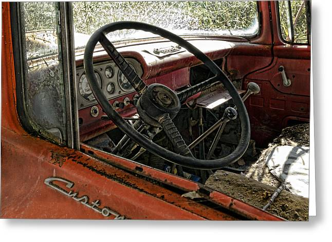 Dashboard Greeting Cards - Previously Enjoyed Greeting Card by Peter Chilelli