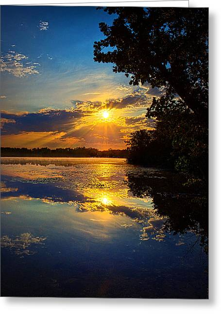 Geographic Greeting Cards - Pride Greeting Card by Phil Koch