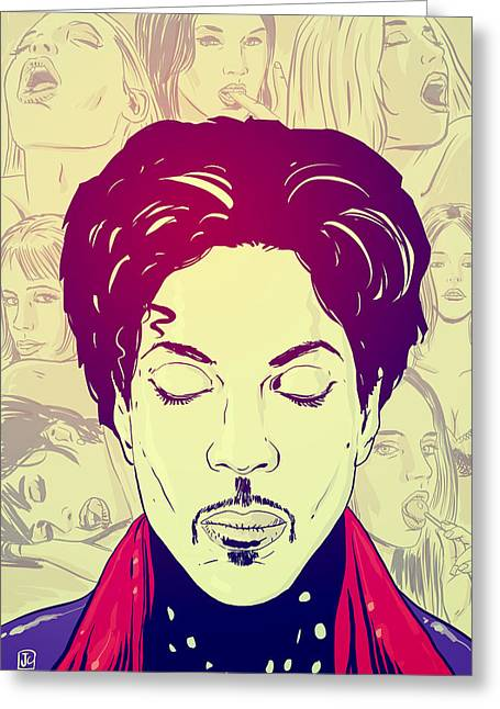 Princes Greeting Cards - Prince Greeting Card by Giuseppe Cristiano