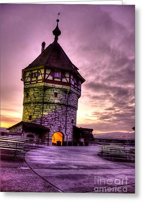 Rating Greeting Cards - Princes Tower Greeting Card by Syed Aqueel