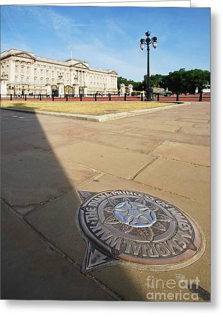 Princess Diana Greeting Cards - Princess Diana Memorial Walk At Buckingham Palace Greeting Card by Yhun Suarez