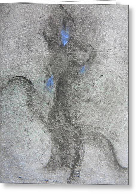 Canadian Photographer Drawings Greeting Cards - Private Dancer Two Greeting Card by Marwan George Khoury