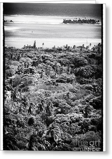 Private Island Greeting Cards - Private Island Greeting Card by John Rizzuto