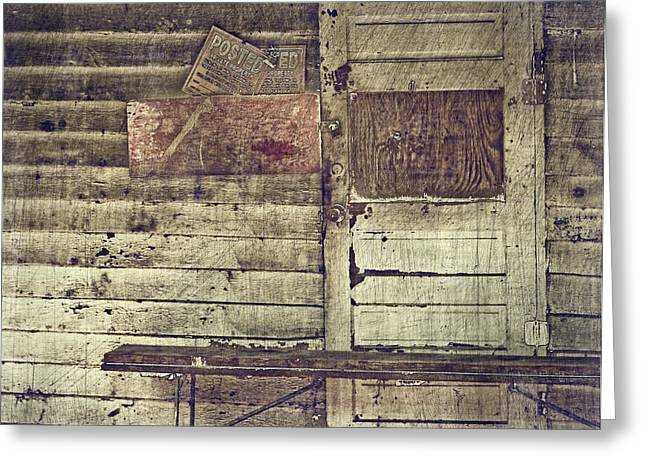 No Trespassing Greeting Cards - Private Property Greeting Card by Kathy Jennings