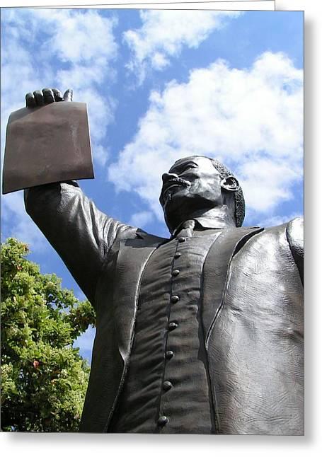 Proclamation Of Emancipation Greeting Card by Sarah Broadmeadow-Thomas