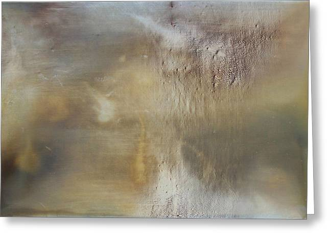 Abstract Expression Greeting Cards - Prologue Greeting Card by Ian Hemingway
