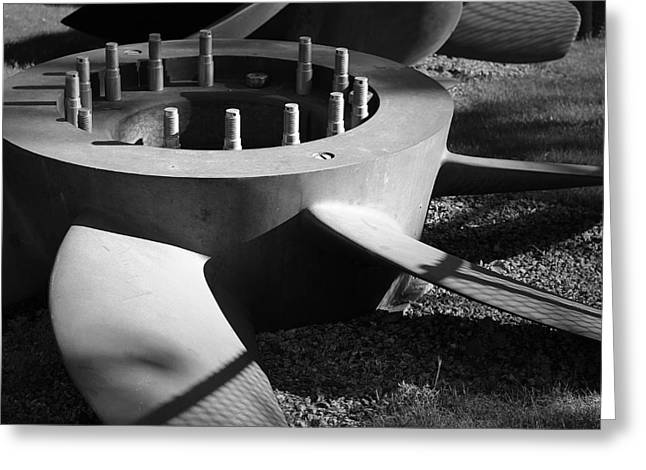 Albacore Greeting Cards - Propeller II Greeting Card by Eric Gendron