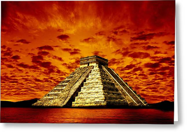 Photodream Greeting Cards - Prophecy Greeting Card by Photodream Art