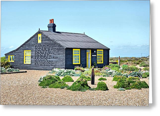 Prospects Greeting Cards - Prospect Cottage Dungeness Greeting Card by Chris Thaxter
