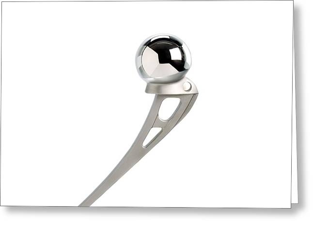Prosthetic Ball Joint Greeting Card by