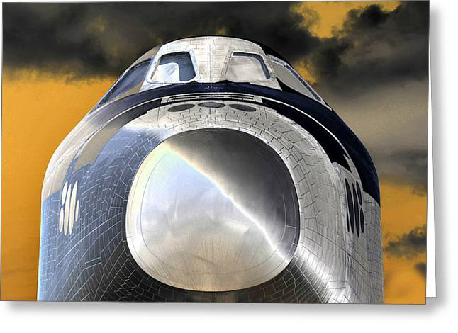 Enterprise Greeting Cards - Proud Greeting Card by David Lee Thompson