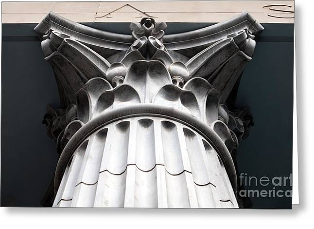 Institution Greeting Cards - Proud Pillar Greeting Card by Dan Holm