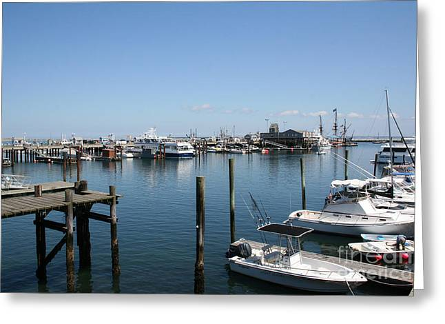 Chatham Greeting Cards - Provincetown Harbor Greeting Card by John Turek