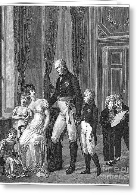 Charlotte Greeting Cards - Prussian Royal Family, 1807 Greeting Card by Granger