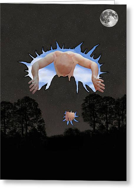 Psychological Space Greeting Cards - Psychological Breakthrough Greeting Card by Eric Kempson