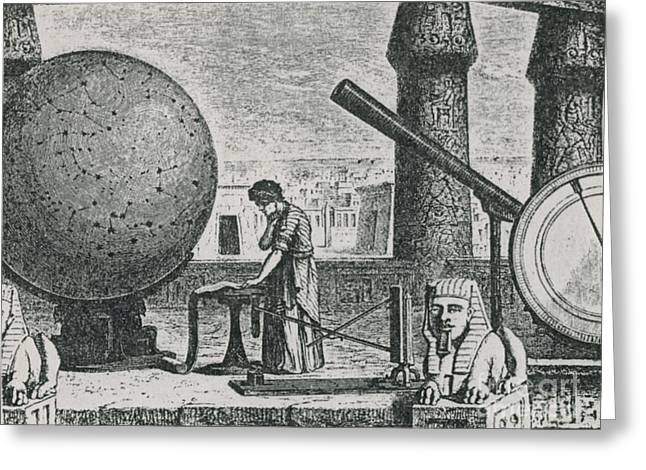 Citizens Greeting Cards - Ptolemy, Alexandria Observatory, 2nd Greeting Card by Science Source