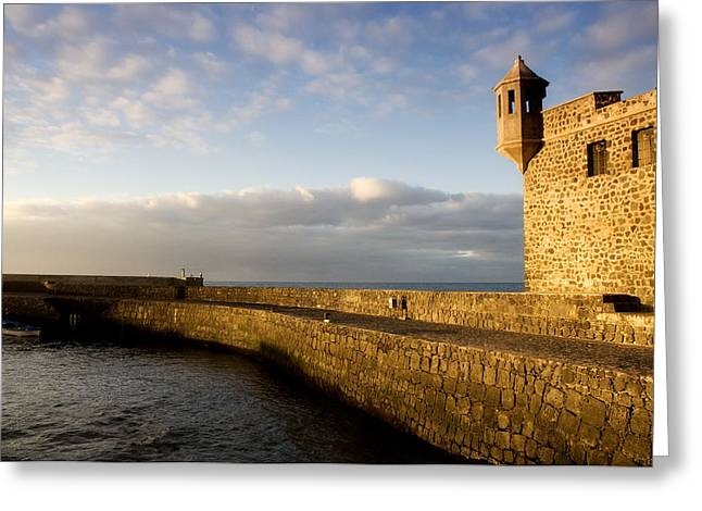 Locations Greeting Cards - Puerto de la Cruz - Tenerife - Canary Island - Spain Greeting Card by Fabrizio Troiani