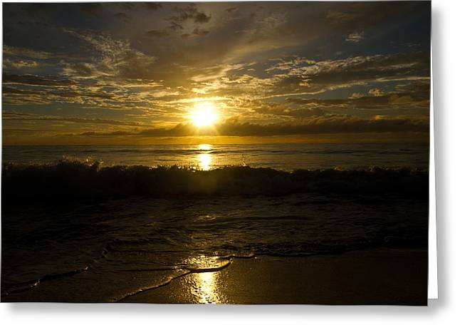 Rincon Greeting Cards - Puerto Rican Sunset IV Greeting Card by Tim  Fitzwater