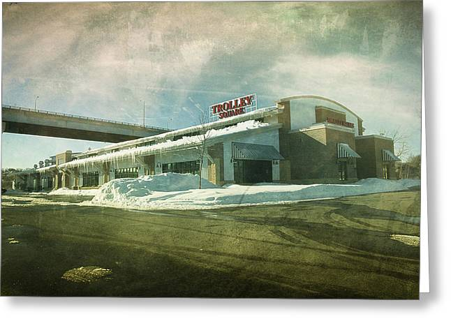 Downtown Appleton Photographs Greeting Cards - Pullmans Restaurant Greeting Card by Joel Witmeyer