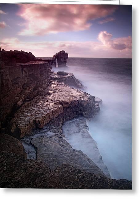 Beach Photos Greeting Cards - Pulpit Rock Greeting Card by Nina Papiorek