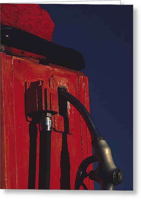 Art Ferrier Greeting Cards - Pump Greeting Card by Art Ferrier