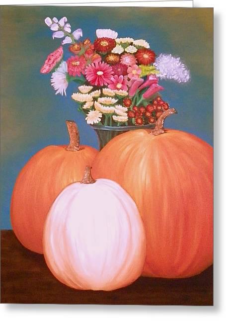 Pumpkin Greeting Card by Amity Traylor