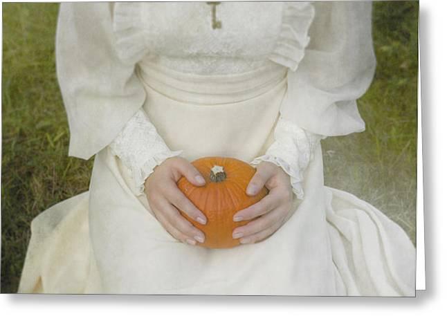 pumpkin Greeting Card by Joana Kruse