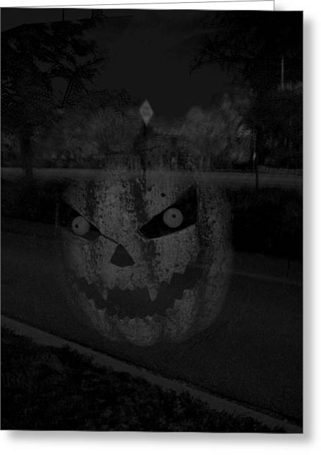 Punkinhead Greeting Card by David Pantuso