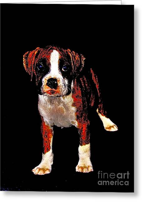 Pup 2 Greeting Card by Xn Tyler
